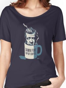 Cup of coffee - David Lynch Women's Relaxed Fit T-Shirt