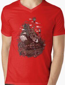 Land of the Sleeping Giant Mens V-Neck T-Shirt