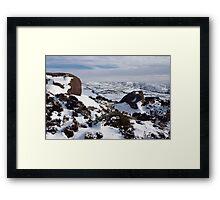 Ramshaw Rocks Framed Print