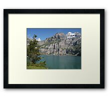 Suisse Postcards - 9 Framed Print