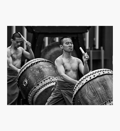 Auckland Art Festival 2011 - Taiwanese Drum Troupe Series  1 Photographic Print