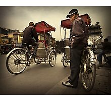 The Cyclo Driver #0101 Photographic Print