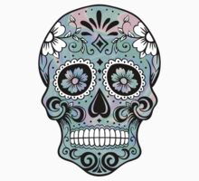 Sugar Skull Hologram by katiefarello
