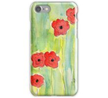 In Memory of WW I: Blood Swept Lands iPhone Case/Skin