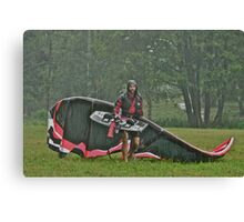 Man In the Rain . Handsome  Viking kitesurfer in action . by Brown Sugar. F* Views (410) favorited by (1) thank you very much ! Canvas Print