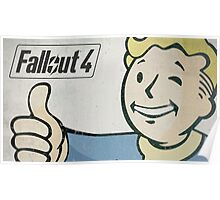Vault Boy Thumb up Poster