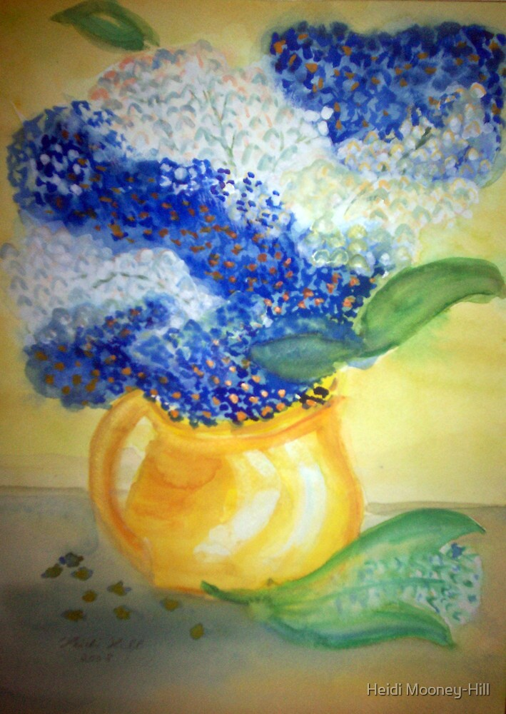 Lily of the Valley + Forget-me-not by Heidi Mooney-Hill