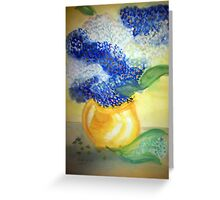 Lily of the Valley + Forget-me-not Greeting Card