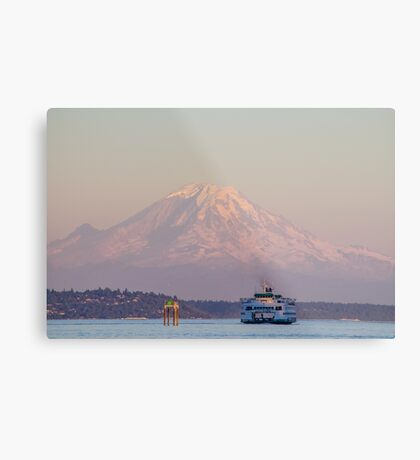 Iconic Washington State  Metal Print