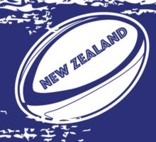 New Zealand Rugby World Cup Supporters Sticker