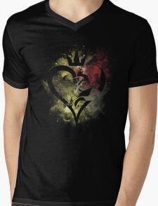 Light and Darkness Mens V-Neck T-Shirt