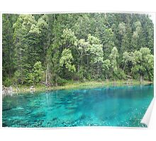 Turquoise Water Poster