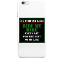 My Perfect Life: Ride My Bike iPhone Case/Skin