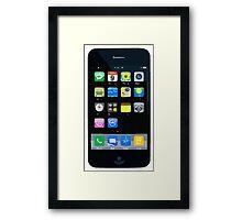 Apps & Icons Framed Print