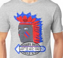 usa indians tshirt by rogers bros co Unisex T-Shirt