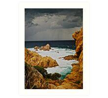 Golden moment  -  eye catcher . Costa Paradiso . Sardegna. Italy . Bella Italia . Saluti Cari Amici !!! by Brown Sugar . Views 1027 . ) OK.ok!!! Art Print