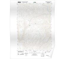 USGS Topo Map Oregon Lawrence Creek 20110831 TM Poster