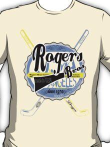 usa hockey tshirt by rogers bros co T-Shirt