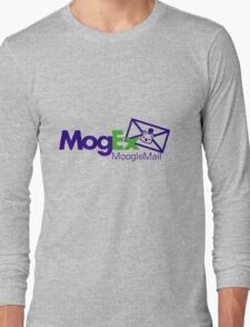 MogEx Delivery Service, Moogle Mail Branch - Final Fantasy Long Sleeve T-Shirt