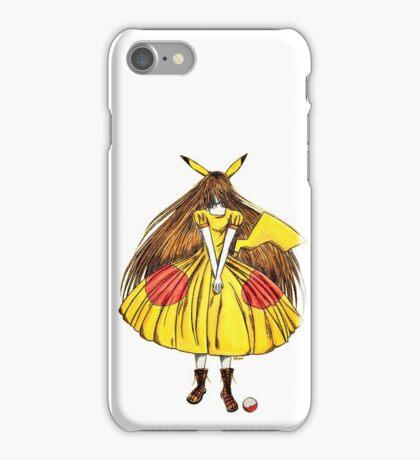 Lady Pikachu iPhone Case/Skin
