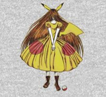 Lady Pikachu Kids Tee