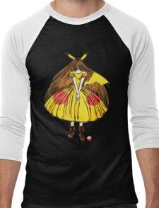 Lady Pikachu Men's Baseball ¾ T-Shirt