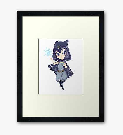 Chibi witch Framed Print
