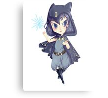Chibi witch Metal Print