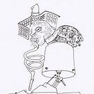 Petits Dessins Debiles - Small Weak Drawings#? - 2008/10/26 -02 by Pascale Baud