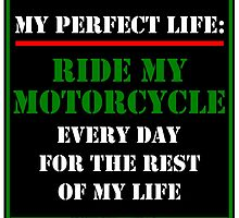 My Perfect Life: Ride My Motorcycle by cmmei