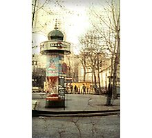 Pigale - Paris - 1968 Photographic Print