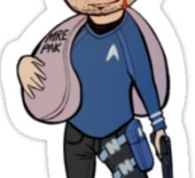 Spock of Chitaqua Sticker