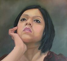 Self portrait by Sukhwinder Flora