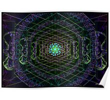 Hunabku 3D Temple - Antar Pravas Poster