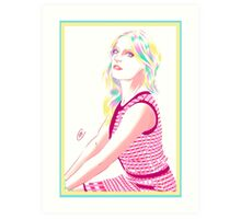 Gillian Jacobs  Art Print