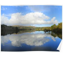 Dartmoor: Burrator Reflections Poster
