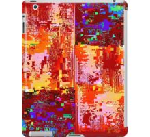 Glitch Pattern 001 iPad Case/Skin