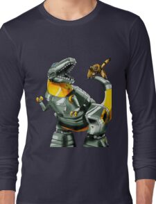 Transformers Grimlock and Wheelie Long Sleeve T-Shirt