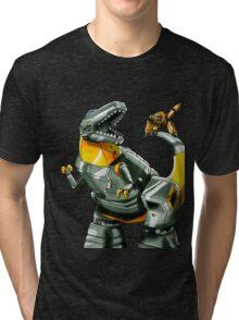 Transformers Grimlock and Wheelie Tri-blend T-Shirt