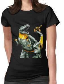 Transformers Grimlock and Wheelie Womens Fitted T-Shirt