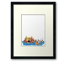 Valley of Bowser Super Mario World Framed Print