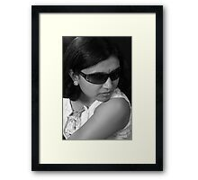 The Silky Touch Framed Print