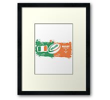 Ireland World Cup Rugby  Framed Print