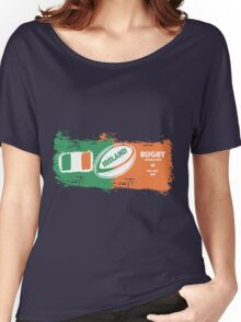 Ireland World Cup Rugby  Women's Relaxed Fit T-Shirt