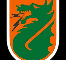 """5th Signal Command """"Dragon Warriors"""" (United States) by wordwidesymbols"""