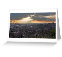 View of Nottingham Greeting Card