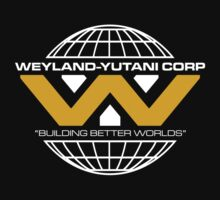 The Weyland-Yutani Corporation Globe - Clean by createdezign
