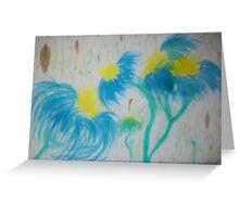 Tropical Wind Greeting Card