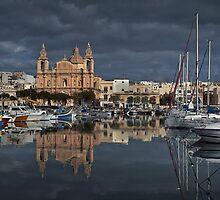 Msida Parish Malta by Edwin  Catania