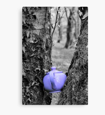 Purple Teapot Canvas Print